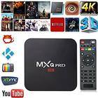 4K Smart TV Box MXQ PRO Android 5.1 IPTV KODI AIRPLAY DLNA likt Apple TV