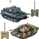 Elite Toys Tanks Battle Set Elite Toys fjernstyret tank 2stk tanks