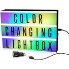 Biograf lyskasse med farveskifte, A4