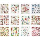 Stickershäfte, 15x16,5 cm, ca. 584 st., 12 mix. ark