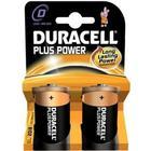Alkalinebatterier DURACELL Plus Power DURLR20PB2 LR20 D 1.5V (2 pcs)