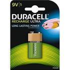 Laddningsbart batteri DURACELL DURDLLR61PB1 HR22 NiMh 9V 170 mAh