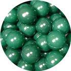 Misioo bolde i mørkegrøn - 50 stk
