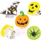 Baker Ross Halloween Flashing Badges (Pack of 4)