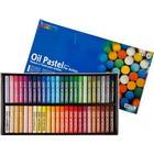 Mungyo oljepastellkritor, tjocklek 11 mm, L: 7 cm, 48 st., mixade färger