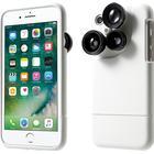 iPhone 7/8 Cover med 3 kamera linser. Hvid