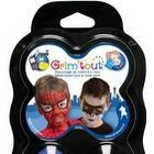 Grim Tout - 4 farver børnesminke - Superhelte