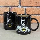 Hawkin's Bazaar Dc Comics Batman Heat Change Mug