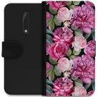 iSecrets Wallet Case Purple Florals (Nokia 5)