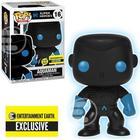 Justice League Aquaman Silhouette Glow In The Dark Pop Vinyl Figure - Entertainment Earth Exclusive