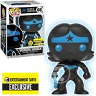 Justice League Wonder Woman Silhouette Glow In The Dark Pop Vinyl Figure - Entertainment Earth Excl