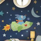 RoomMates Väggdekor Rocketdog