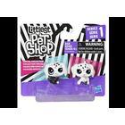 Littlest Pet Shop LPS Black and White - OPP,  PUPPY ,PUPPY