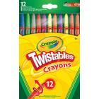 Crayola Twisted crayons 12 pieces 52-8530