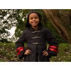 Wizard Robe Harry, Black/Dark Red, 6-8 år
