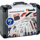 KWB værktøjssæt 99 dele i plastikkuffert 370760