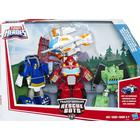 Playskool heroes transformers rescue bots griffin rock rescue
