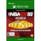 NBA 2K18 Virtual Currency Key XBOX LIVE GLOBAL 450 000 Coins