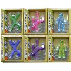 Toy Shed StikBot Figure (Pack of 6, Light Blue/Dark Blue/Green/Yellow/Purple/Pink)