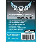 Mayday Standard Euro Card Game Sleeves - Kartenschutzhüllen 59x92mm (100 Stück) für Dominion / Agricola