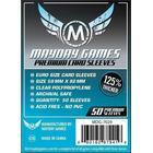 Mayday Premium Euro Card Game Sleeves - Kartenschutzhüllen 59x92mm (50 Stück) für Dominion / Agricola
