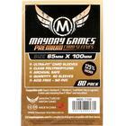 Mayday Premium Magnum Copper Card Game Sleeves - Kartenschutzhüllen 65x100mm (80 Stück)  für 7 Wonders
