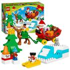 LEGO DUPLO 10837 Julemandens juleferie