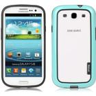 Walnutt by Zenus Metro Block Samsung Galaxy S3 - Menthol Blue