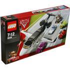 LEGO Cars 8638 Jagd nach dem Agenten-Jet