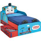 Thomas & Friends Juniorsäng med lådor 143x77x67 cm blå WORL610011