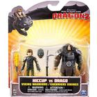 DreamWorks How to Train Your Dragon 2 - Viking Warriors Hiccup vs Drago