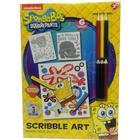 PoundToycom Spongebob Squarepants Scribble Art Set | Arts & Crafts