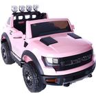 ToyandModelStore Ford Ranger Wildtrak Style Ride On Jeep 12V Electric Toy Car Pink With