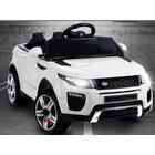 ToyandModelStore Range Rover Evoque Style Ride On Jeep 12V Electric Toy Car White With