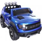 ToyandModelStore Ford Ranger Wildtrak Style Ride On Jeep 12V Electric Toy Car Blue With
