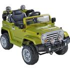 ToyandModelStore Jeep Wrangler Style Kids Ride On Toy Car 12V Electric With Parental Co