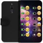 iSecrets Wallet Case Emoji (Huawei Mate 10 Lite)
