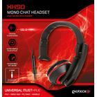 Gaming Headset Xh-50 Wired Mono - Sort & Rød