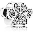 Pandora Pavé Paw Sterling Silver Charm w. Cubic Zirconia (791714CZ)