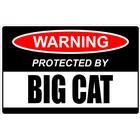 Klistermärke big cat