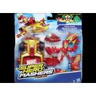 MARVEL Super Hero Mashers Micro Figure and Vehicle Set, Iron Man