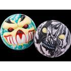 Impulse Monster face bouncing balls, Black and White