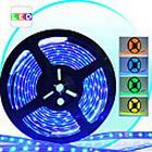 10M Water Proof Multi-farvet LED Strip med 600 lysdioder, Remote og Switch