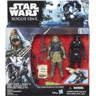 Hasbro Star Wars R1 Twin Rebel Commando Pao & Death Trooper figurer 9,5cm