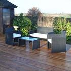 Kingfisher Fsr Rattan Furniture Set (4 Pieces)