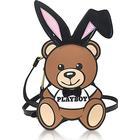 Moschino Teddy Playboy Nylon Backpack