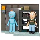 Rick & Morty - Garage Rack with Jerry and Mr. Meeseeks Construction Blocks (McFarlane Toys)