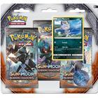 Pokémon Sun & Moon Burning Shadows 3 Booster Packs + Alolan Meowth Promo Card & Coin