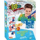 IDO3D Vertical Two Pen Set - Zoo Animals