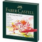 Pitt Artist Pen Brush 12 set- Faber Castell